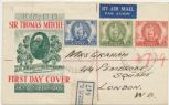 14/10/1946 Australian FDC Illustrated, Centenary of Mitchell's Exploration set of 3 (ACO/368)